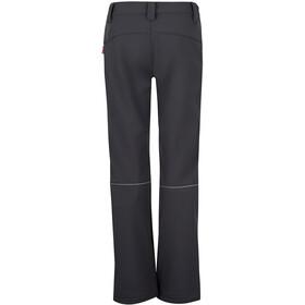 TROLLKIDS Fjell Pantalones Softshell Niños, anthracite/med blue